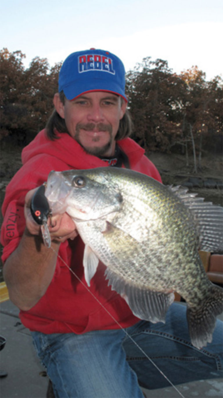 Finding Crappie in Oklahoma