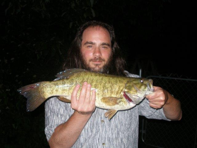 Tony  Barletta South Plainfield NJ  I was testing out a new reel/lure combo I had gotten the day