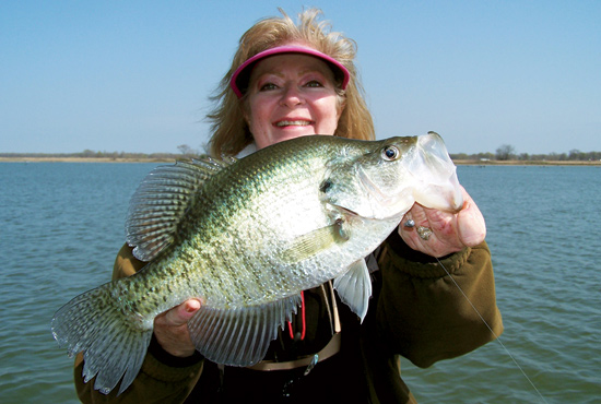 Choosing the top states for trophy crappies is a tough task, because the continent is currently