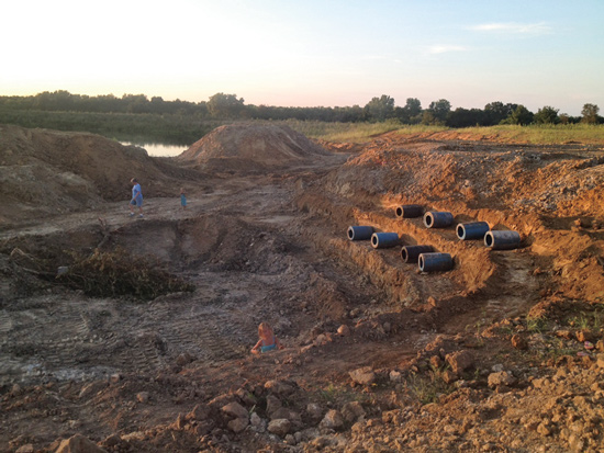 Prodigious panfish ponds in fisherman for Bass pond construction