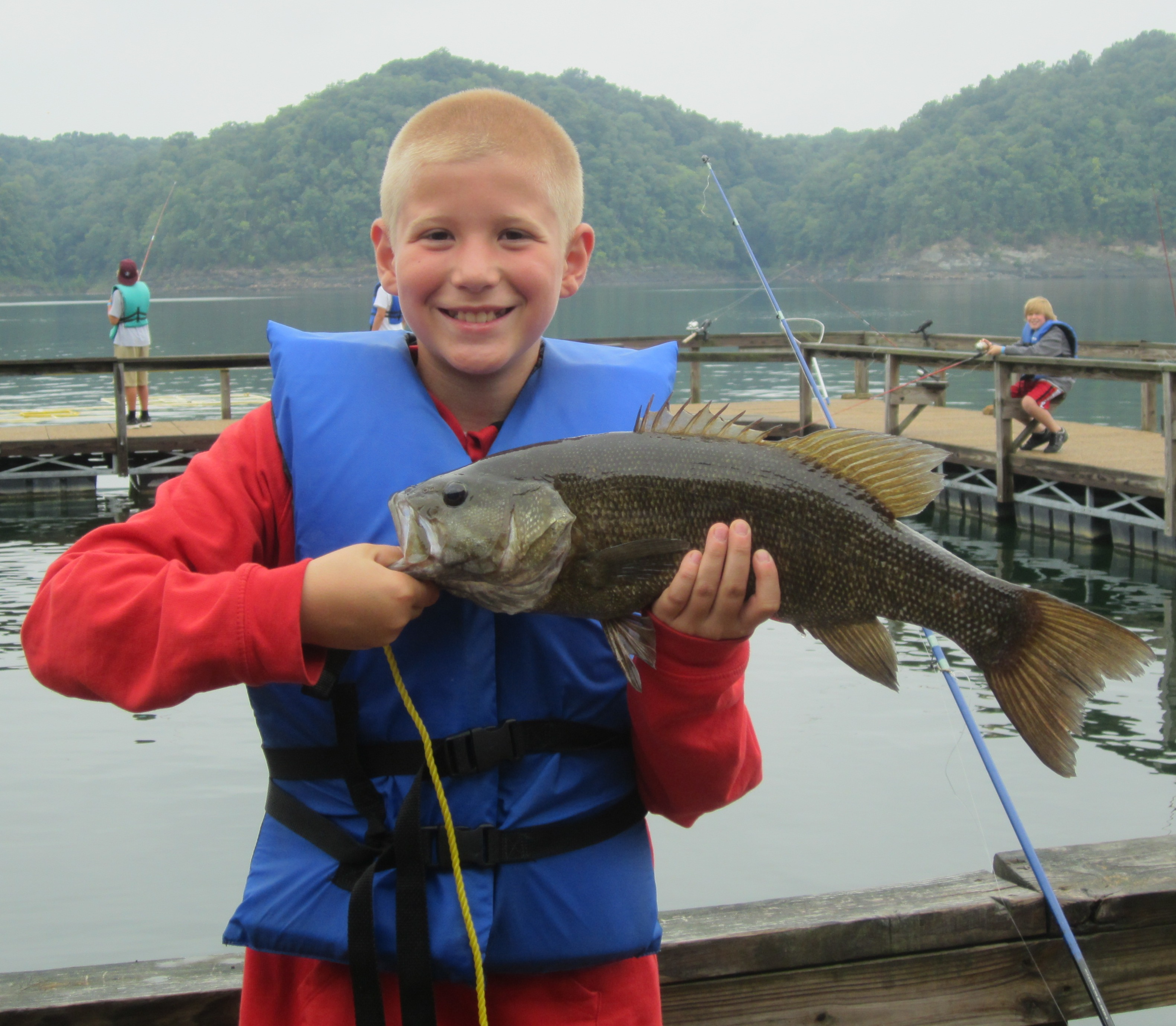 Camp Earl Wallace smallmouth