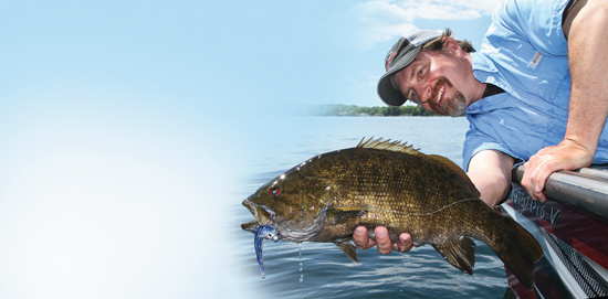 Smallmouth bass are suckers for a well-placed hair jig. Here's how to catch more bass on hair jigs.