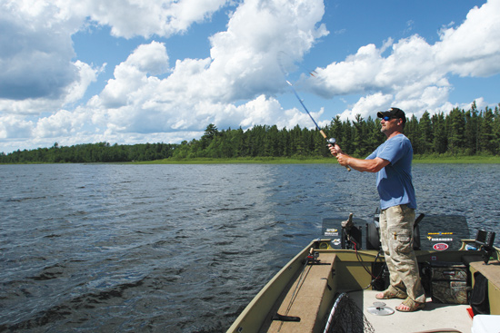 Big baits are a staple of the muskie trade, and for good reason. After all, the mantra