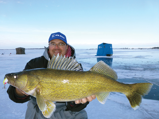 New Ice Fishing For Walleye Presentation Perspectives