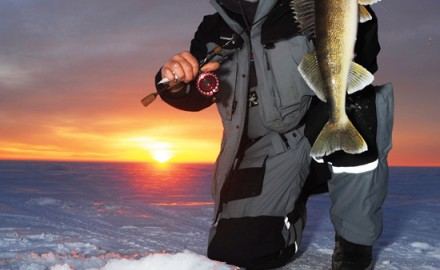 Ice fishing rod & reel combos that rule the ice.