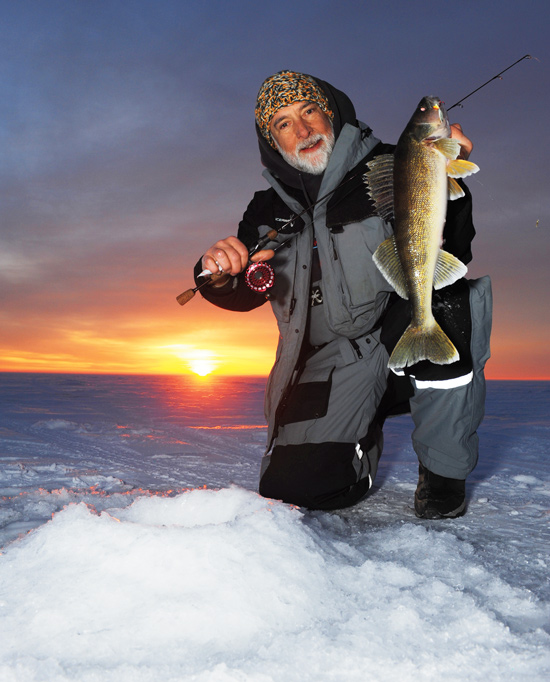 Ice fishing rods reels that rock in fisherman for Walleye fishing gear
