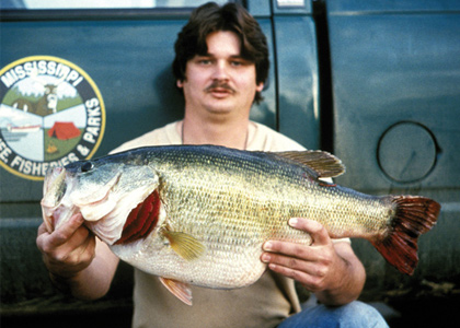 Record Largemouth Bass