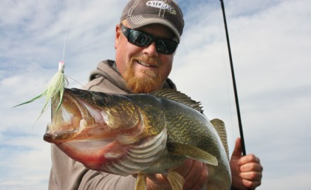 Tactics that catch both walleyes and bass can be annoying. The net is always out and before you