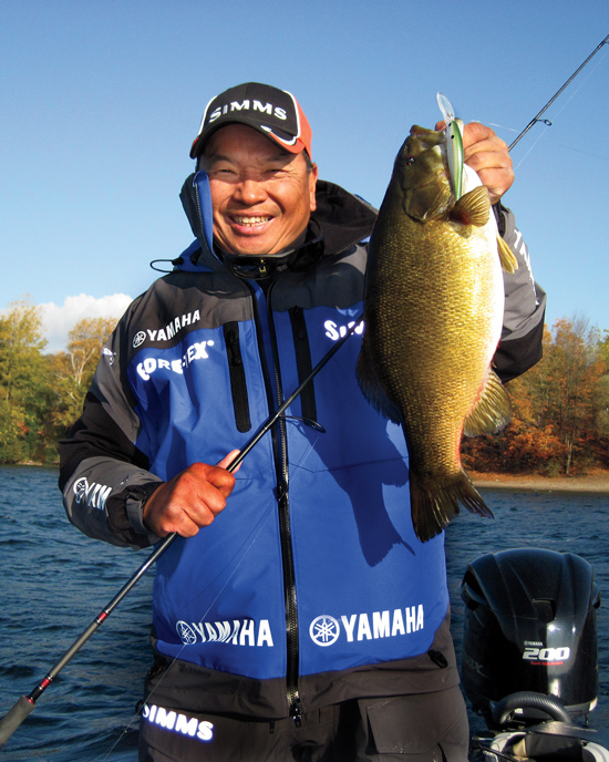 Jerking for Deep Water Smallmouths