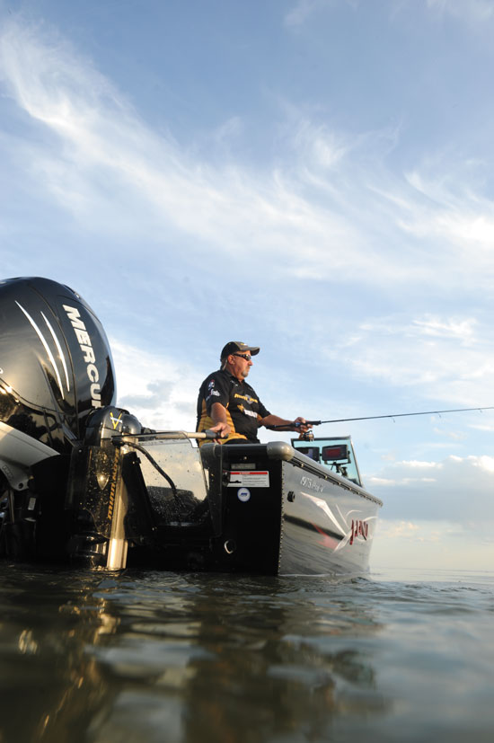walleye boat
