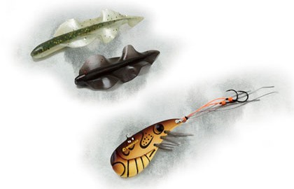 A creative solution to a fishing dilemma's description of many of the best fishing lures ever