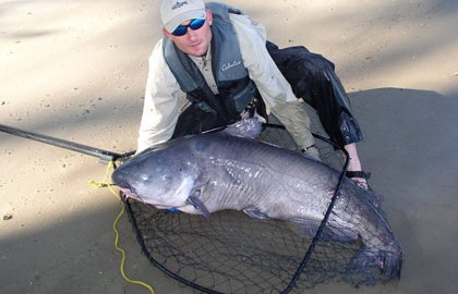 I was struck early on with the impressive size that catfish could attain and the great hold that