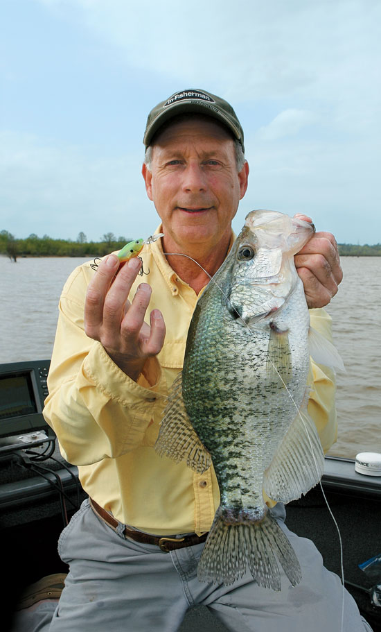 Crankbaits for crappies in fisherman for Best crappie fishing times