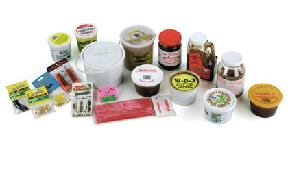 In the Midwest, natural baits like cutbait and nightcrawlers often are used in conjunction with