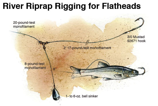 Rippin and rappin catfish rigs in fisherman for River fishing rigs
