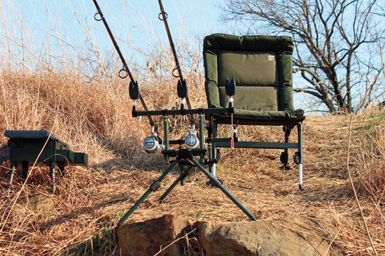 Shore Catfishing Gear