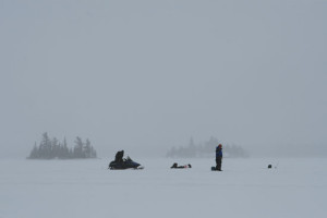 Desolate-Lake-Ice-Fishing-In-Fisherman