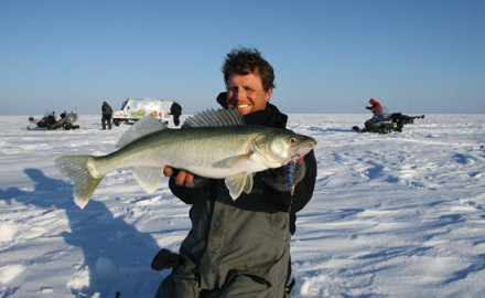 Larger, more aggressive approaches entice big walleyes.