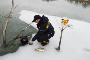 Ice belt edge options in fisherman for Ice fishing for catfish