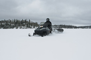 Snowmobile-Lake-Crossing-In-Fisherman