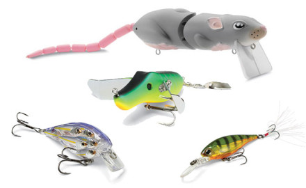 Among hard lures, truly new ideas are hard to come by. Many new items represent tweaks on proven