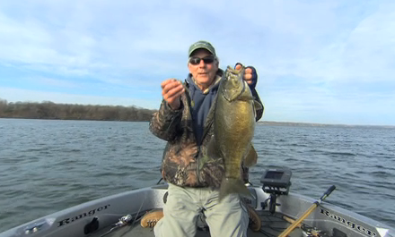 In-Fisherman uses spoons to catch many fish species, including giant smallmouths.