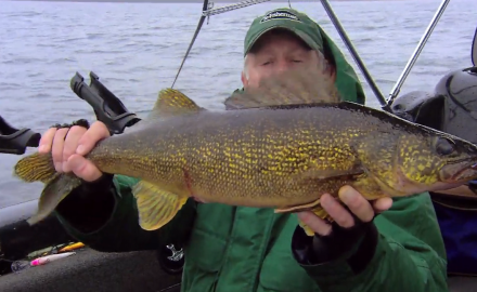 The In-Fisherman staff troll up giant walleyes using crankbaits.