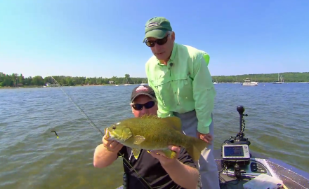 The In-Fisherman staff fine-tunes and get wacky for smallmouths.