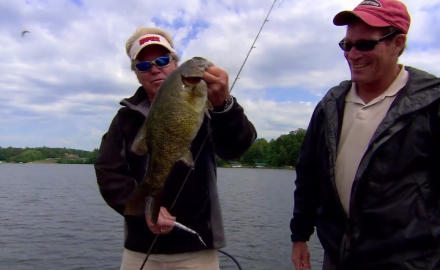 The In-Fisherman staff keeps it on the cutting edge, as they use the X-Factor plus topwater lures for smallmouths.