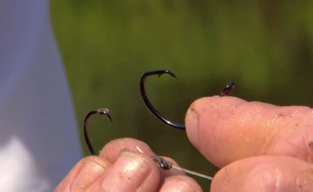 The In-Fisherman staff features the use of circle hooks while fishing for catfish. Circle hook
