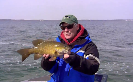 This week the In-Fisherman staff offers seasonal presentation perspectives for ice-out smallmouths.