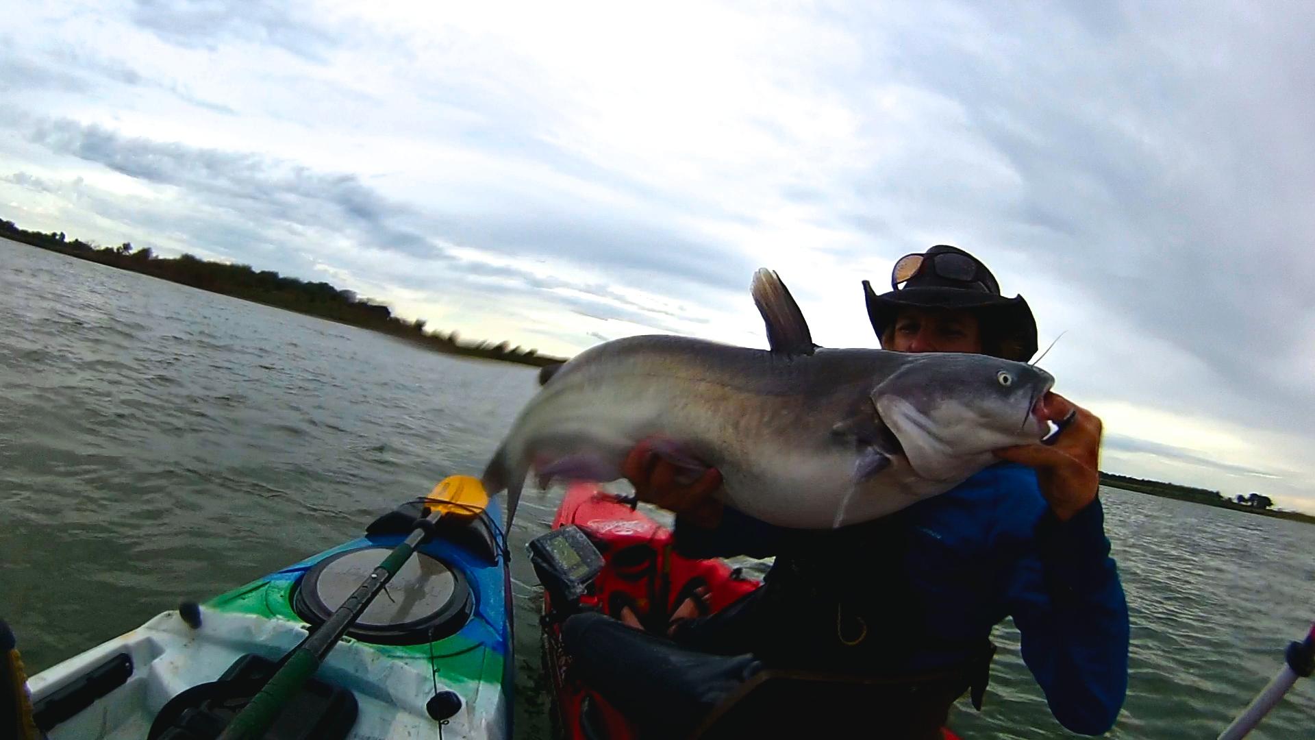Kansas kayak fishing in fisherman for Fishing in kansas