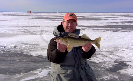 Lake of the Woods Walleye Video