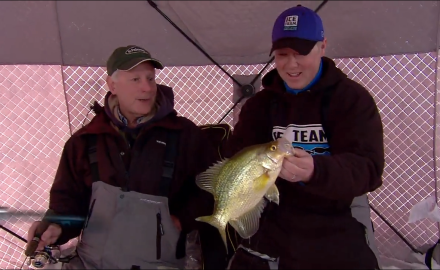 Ice fishing crappies is one of the most popular activities across the ice belt. Check out this