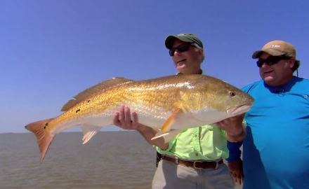 The In-Fisherman staff heads into the dead of winter fishing and to Louisiana for redfish.