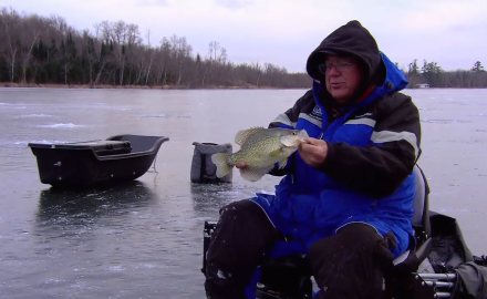 Cadence Crappies on Ice