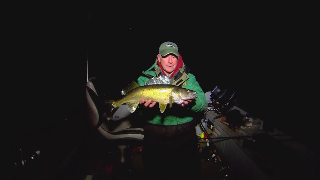 Night Trolling For Walleyes In Fisherman
