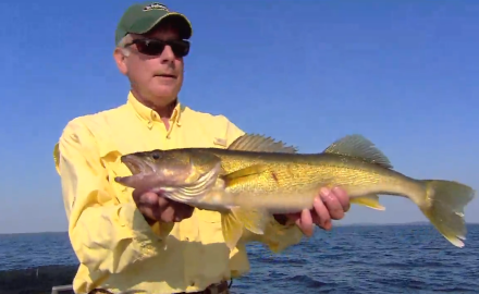 The In-Fisherman staff puts a new spin on using crawlers for walleyes.