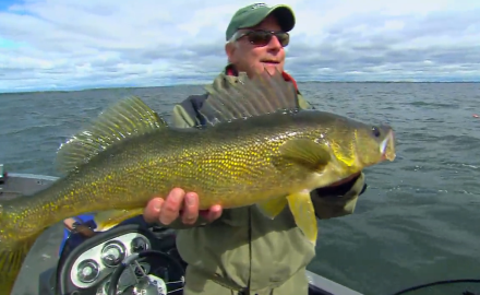 The In-Fisherman staff uses horizontal swimbaits to jig vertically for pike and walleye.