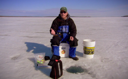 Pioneering Ice Fishing