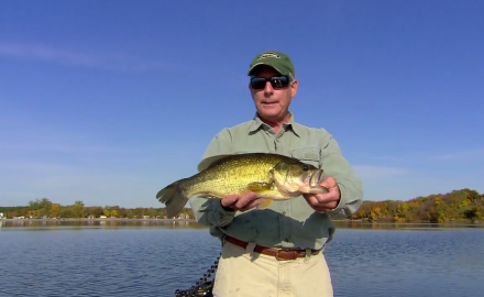 The In-Fisherman staff reveals some of the season's slickest new strategies as they two-time fall largemouths.