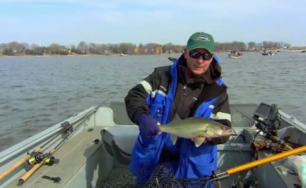 Lipless Lures for River Walleyes