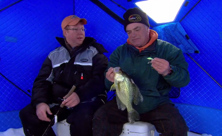 The In-Fisherman staff captures the exhilaration of winter fishing destinations as they waylay a