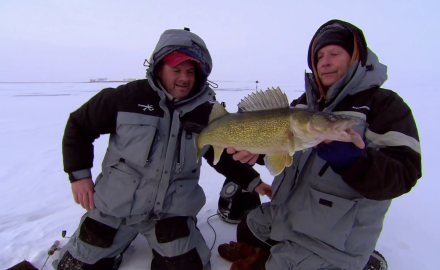Lure Strategies for Ice Walleyes
