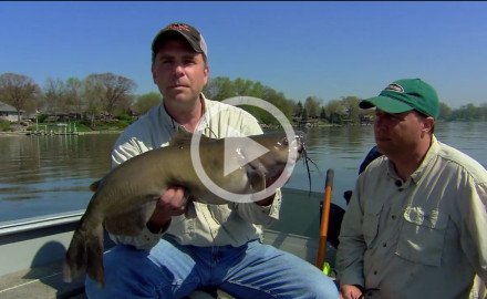 Check out this early season spring catfish tactic for prespawn channel cats in deep water!!