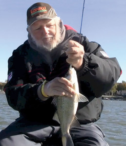 Fishing for White Bass