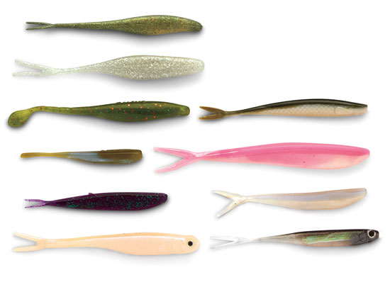 Plastic lures for walleyes in fisherman for Fin s fish