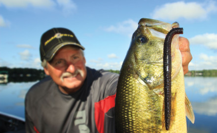 Big Worms For Bass It's tough to see the real magic of a cigar worm in the water. Drop one in an