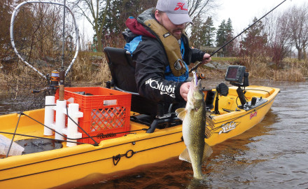 Many modern walleye anglers have become proficient at finding walleyes in wide-open spaces.