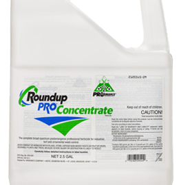 For a number of years, we have been concerned about the vast quantities of herbicides,